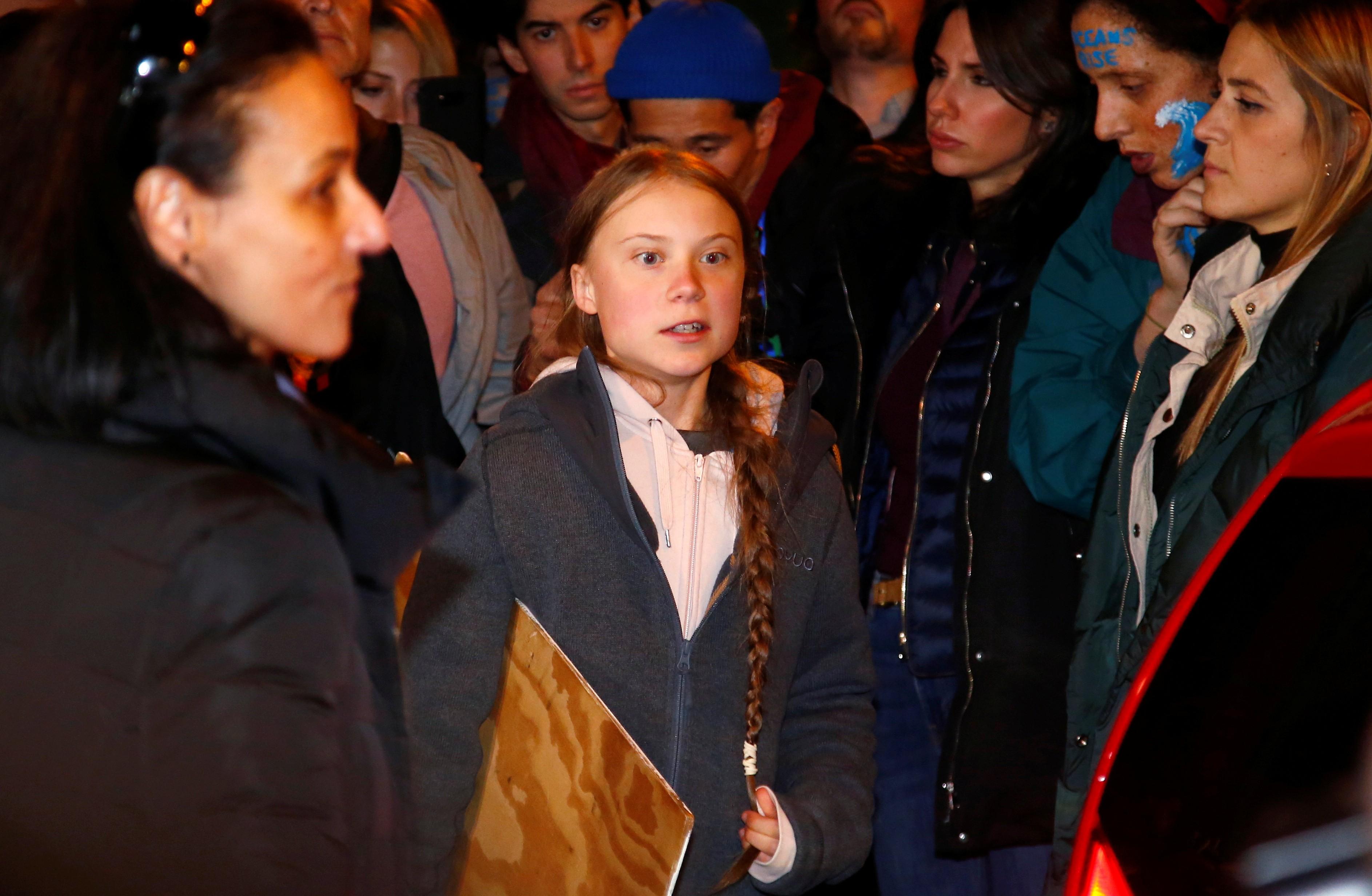 'Nossas vozes são cada vez mais ouvidas, mais isso não se traduz em ação política', diz Greta Thunberg em Madri